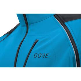 GORE WEAR C3 Windstopper Phantom Zip-Off Jacket Herr dynamic cyan/black